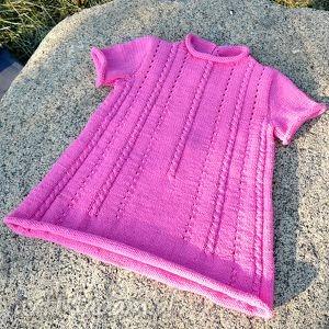 Prezent Sukieneczka Klara, sukienka, bawełna, dziewczynka, niemowlę, prezent, lato