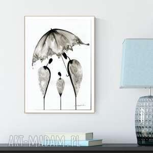 plakaty grafika 30x40 cm wykonana ręcznie, abstrakcja, elegancki minimalizm