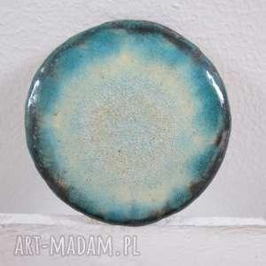 święta, kosmiczna broszka ceramiczna, ceramika, unikatowa, broszka, na prezent