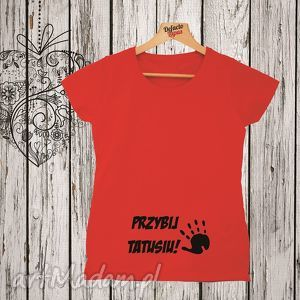 ciążowe koszulka z nadrukiem ciążowym, dla kobiety w ciąży, mama, ciążowa, żona