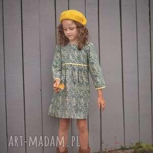 Sukienka Vintage Flower, sukienka, retro, bawełna, dziewczynka, vintage, kwiatki