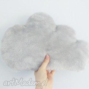podusia chmurka szare futerko, poduszka, chmurka, mięciutka, skandynawska