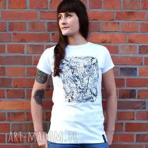 Koszulki kropka design koszulka dla weganki, z-czaszkami