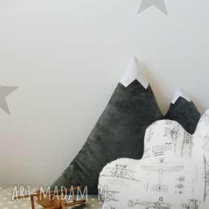 Poduszka góra grafitowa pokoik dziecka hop siup poduszka, góra