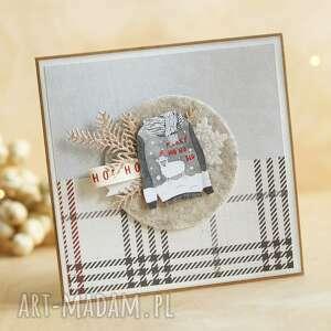 handmade pomysł jaki prezent pod choinkę kartka świąteczna