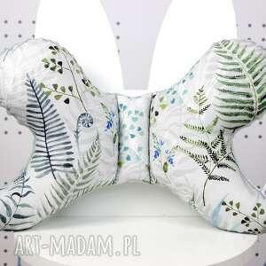 motylek - poduszka antywstrząsowa paproć, poduszka, niemowlaka