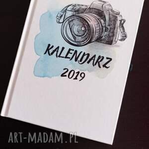 notesy kalendarz dla fotografa- aparat, kalendarz, terminarz, fotograf