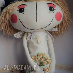 oryginalna lalka anolinka z duszą - personalizowana, lalka, urodziny, prezent, szyta