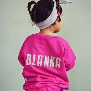 bluza Kanu z imieniem, personalizacja, bluza, imię, dresówka, buba