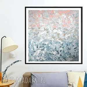 obraz ręcznie malowany 100x100