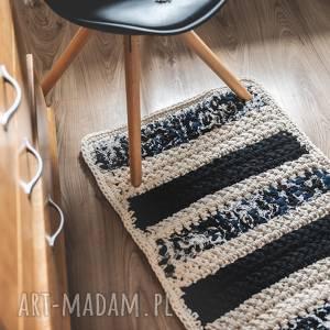 Chodnik, dywan codzienny szydełkowany , dywanik, eco, szydełko, rękodzieło,
