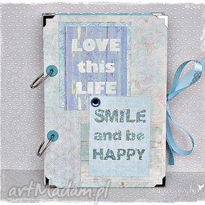 Niekończący się notatnik Love Life, notes, notatnik, segregator, loft, life, prezent