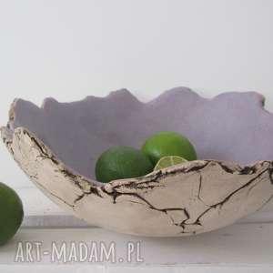 Prezent dekoracyjna miska Hvar, ozdobna-miska, miska-handmade, miska-na-owoce