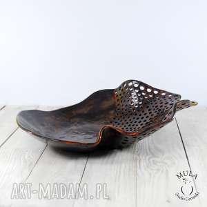 handmade ceramika ceramiczna misa patera
