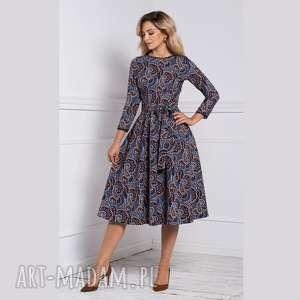 sukienki sukienka marie 3/4 midi andrea