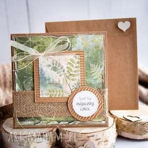 kartka z naturą w tle koperta na każdą okazję, dla niej, urodzinowa