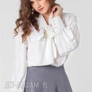 bluzki damska bluzka z kokardą rozm 34, 36, 38, 40, 42, 44, 46, koszula, kokarda
