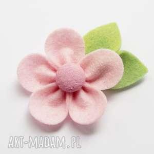 ozdoby do włosów spinka kwiatek różowy, spinka, włosów, ozdoba