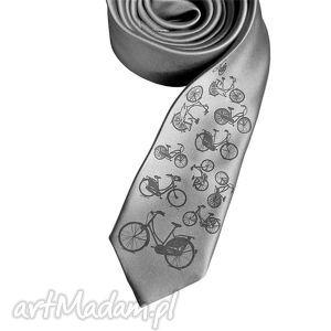 krawat rowery, krawat, nadruk, prezent, święta