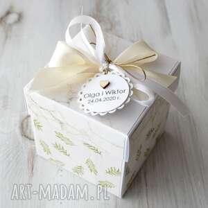 kartka pudełko na ślub - pudełko eksplodujące, prezent