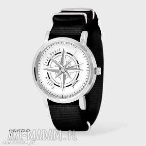 Prezent Zegarek, bransoletka - Kompas czarny, nato, zegarek, bransoletka, nato