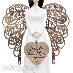 figurka anioł miłości matki do córki you are an angel 15,5 cm, prezent, komunia