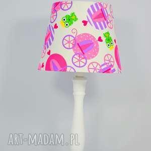 lampka enchanted carriage - lampa, dla, dzieci, różowa, popielewska, style
