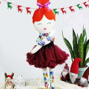 lalki jaśmina, piękna lalka szmacianka ogromna, prawie 75 cm