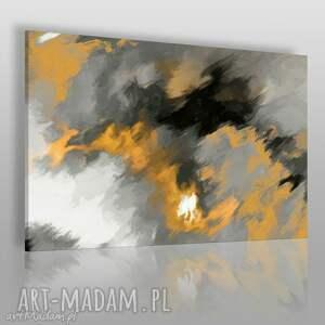 obraz na płótnie - abstrakcja płomienie 120x80 cm 01202 , płomienie