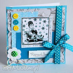 kartka - radosnych świąt bożego narodzenia, kartka, boże, narodzenie, sanki