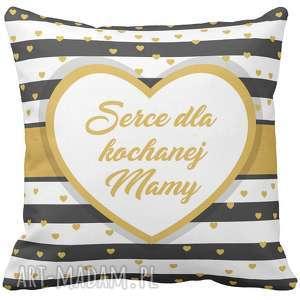 Prezent Poduszka na prezent Serce dla Kochanej Mamy Dzień Matki 6760, dzień, matki