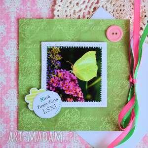 kartka - niech twoja dusza lśni, kartka, fotografia, motyl, dusza, nadzieja