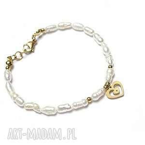 Pearls white perły naturalne vol 1-bransoletka ki ka pracownia