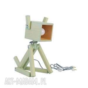 Lampka Puppy Mint 004, drewno, lampkapies, dziecko, pokoik, design, piesek