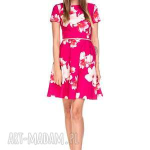 sukienki sukienka lili, magnolie, letnia, romantyczna, kwiaty, klasyczna