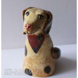 ceramika pies łatka, ceramika, dom