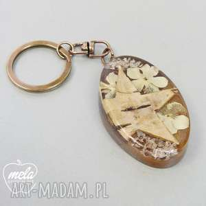 0505~mela Brelok do kluczy, torebki złoto antyczne, brelok, do-kluczy, żywica