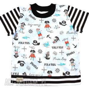PIRACI, Koszulka, t-shirt, bluzka z krótkim rękawem na lato, dla chłopca 68-116