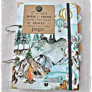 planner podróży, planer, pamiętnik podróżnika, planner, podróżnik