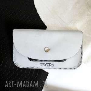 portmonetka z zatrzaskiem szara, portmonetka, prezent, rękodzieło, portfel