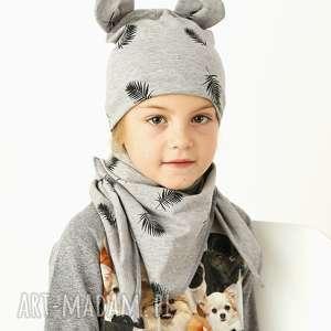 Prezent Czapka zimowa MIŚ, czapka, beanie, uszy, dziecko, bawełna, prezent