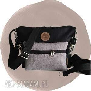 hand-made torebki torebka modułowa black 4w1 - taupe