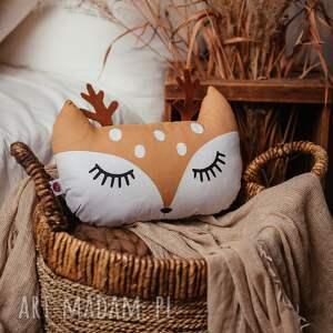 dla dziecka poduszka leśna - jelonek, dziecka, do pokoju