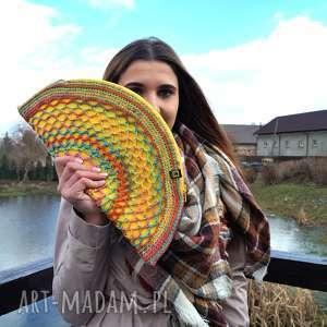 handmade wiosenno-letnia torebka - żółty pierożek:)