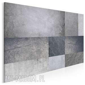 obraz na płótnie - beton minimalizm prostokąty 120x80 cm 73901