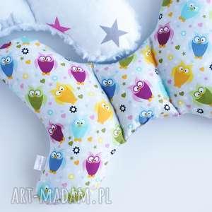handmade dla dziecka motylek poduszka antywstrząsowa
