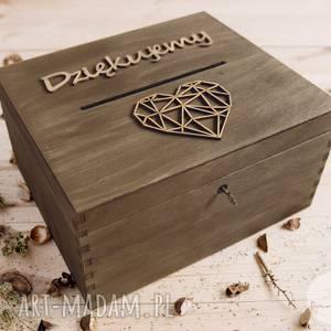 ślub rustykalne pudełko na koperty 2 - cena promocyjna, koperty