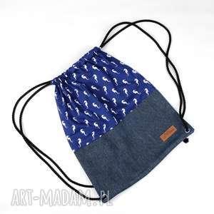 Prezent Worek plecak morski koniki, worek, plecak, koniki-morskie, morski, prezent