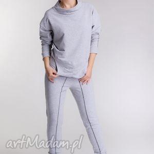 sportowe dres drdrjz, wygodny, dres, bawełna, spodnie, bluza, szary