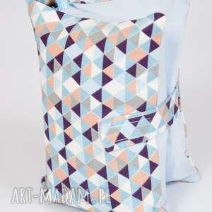 Etui na pieluchy i chusteczki - trójkąty, etui, pieluszki, chusteczki, torba